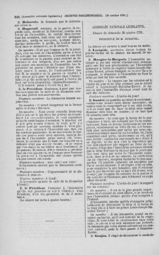 Tome 34 : Du 1er octobre au 10 novembre 1791 - page 518