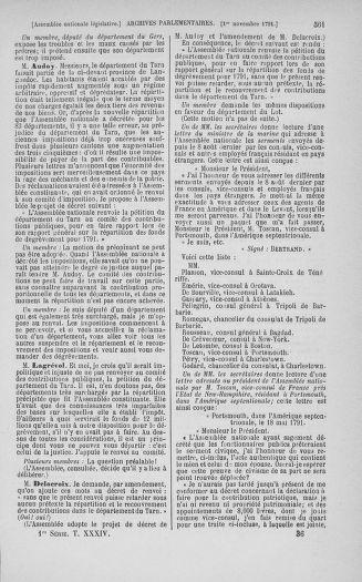 Tome 34 : Du 1er octobre au 10 novembre 1791 - page 561