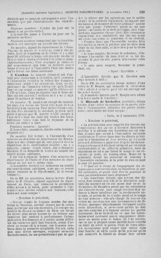 Tome 34 : Du 1er octobre au 10 novembre 1791 - page 623