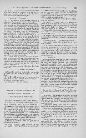 Tome 34 : Du 1er octobre au 10 novembre 1791 - page 639