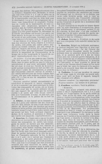 Tome 34 : Du 1er octobre au 10 novembre 1791 - page 672