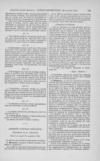 Tome 34 : Du 1er octobre au 10 novembre 1791 - page 725