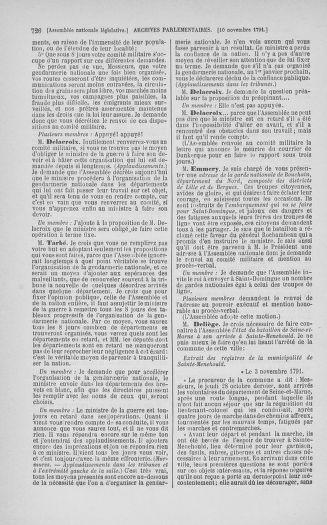 Tome 34 : Du 1er octobre au 10 novembre 1791 - page 726