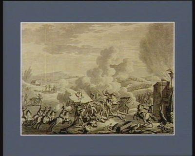 Bataille de Gemmappe, gagnée le 6 novembre 1792, sur les Autrichiens [estampe]