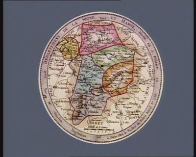 Departement de la Seine et Marne divisé en 5 districts : [estampe]
