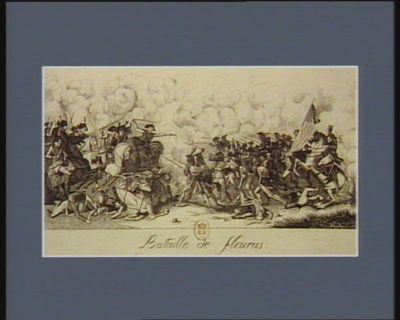 Bataille de Fleurus [estampe]
