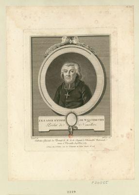 J.N.F. Ange d'Eymar de Walchrétien prélat de Neuvillers : [estampe]