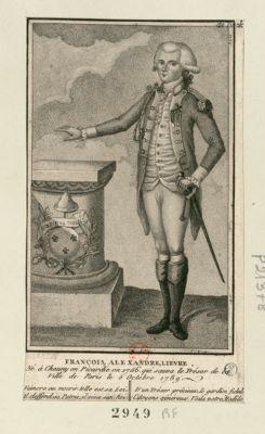 François, Alexandre, Lievre né à Chauny en Picardie en 1756 qui sauva le trésor de la ville de Paris le 5 octobre 1789 : [estampe]