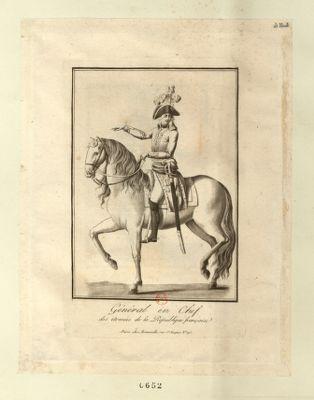 Général en chef des armées de la République française [estampe]