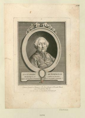 J.G. Le Franc de Pompignan, archevêque et comte de Vienne député du Dauphiné et président de l'Assemblée nationale : [estampe]