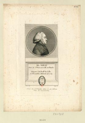 M. Nolf curé de St Pierre de Lille en Flandre député du bail.ge de Lille à l'Assemblée nationale de 1789 : [estampe]