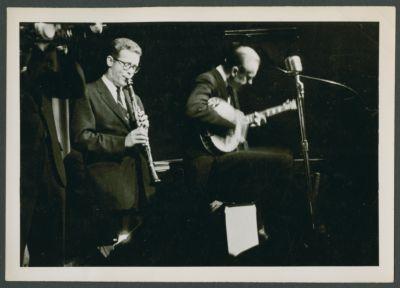 Bob Wilber and Dick Lammi