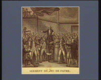 Serment du <em>Jeu</em> <em>de</em> <em>Paume</em> (<em>1789</em>) [estampe]