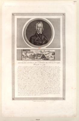 Houchard général de l'armée du Nord, en 1793, décapité en 1794 [i.e. 1793] [estampe]