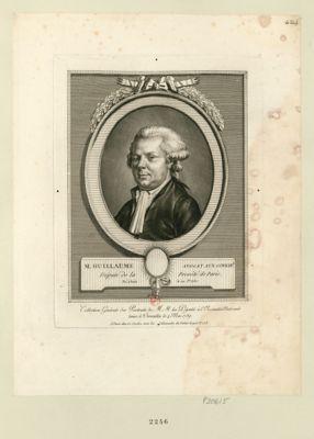... Guillaume, avocat aux conseils député de la prevôté de Paris, né à Paris le 22 j.er 1750 : [estampe]