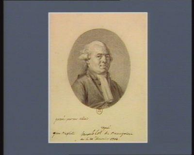 Jean Baptiste Humblot deputé du Beaujolois né le 21 février 1734 : [dessin]
