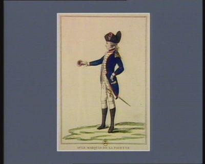Mr le marquis de La Fayette commandant de la Garde parisienne : [estampe]