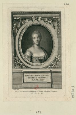 Madame Marie Louise Therese Victoire de France [estampe]