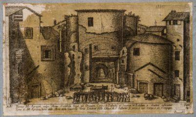 Thermae M. Agrippae, vulgo Arcus Ciambellae
