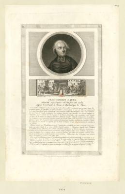 Jean-Sifrein <em>Maury</em>, député aux États généraux de 1789 [estampe]