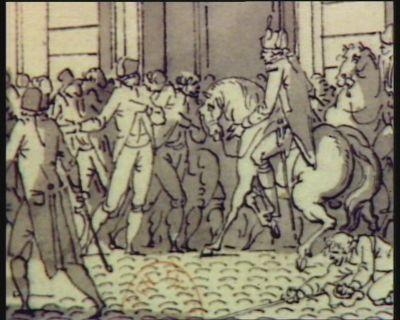 [Evénement du quinze novembre 1790] [dessin]