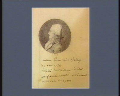 Antoine Grenot député du bailliage de Dole en Franche-Comté... : [dessin]
