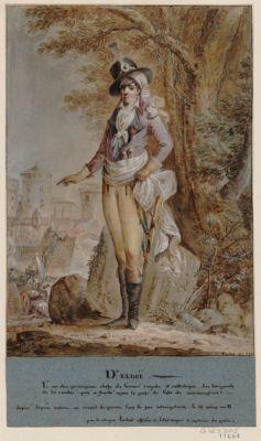 D'Elbée l'un des principaux chefs de l'armée royale <em>et</em> catholique des brigands de la Vendée, pris <em>et</em> fusillé après la prise de l'Isle de Noirmontier... : [dessin]