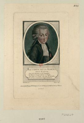 Le  Comte de La Marck député du Quesnoy... : [estampe]