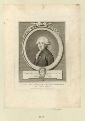 L.s Alex. duc de la Rochefoucauld pair de France, député de Paris : [estampe]
