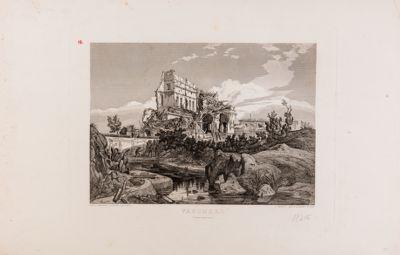 Vascello dopo il bombardamento del 1849