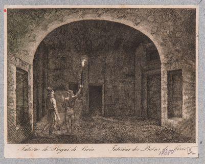Palatino, interno di ambiente forse della Domus Augustana