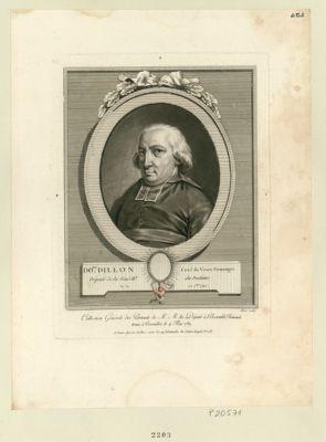 Do.que Dillon, curé du Vieux-Pouzauges député de la sénech.ée de Poitiers, né le 22 7.bre 1742 : [estampe]