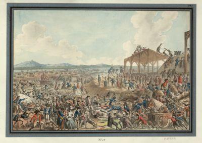 Vue des travaux du Champ de Mars, par les patriotes [estampe]