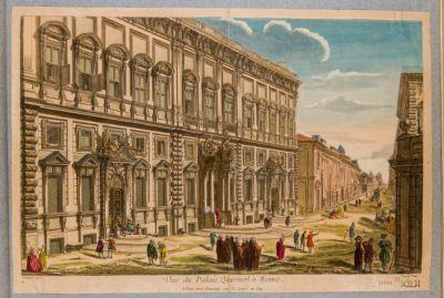 Palazzo della Consulta, prospetto