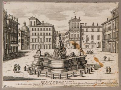 Fontana in piazza Navona