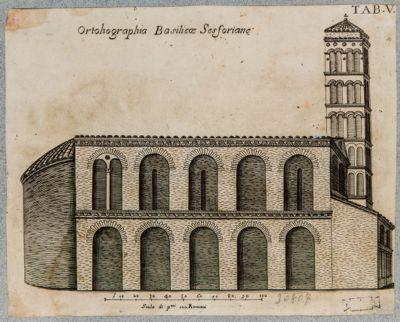Chiesa di S. Croce in Gerusalemme, fianco
