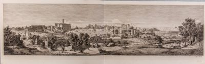 Panorama parziale di Roma