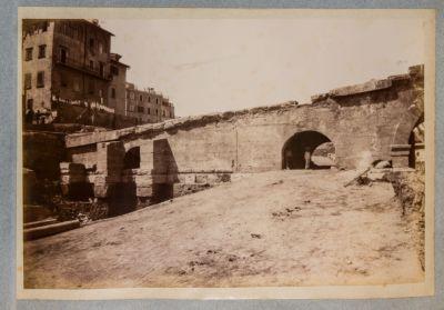 Ponte Elio, spalla sinistra