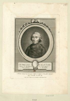 J. M. Rolland, curé du Caire député des senechaussées de Forcalquier, Digne, Sisteron et Barcelonnette : [estampe]