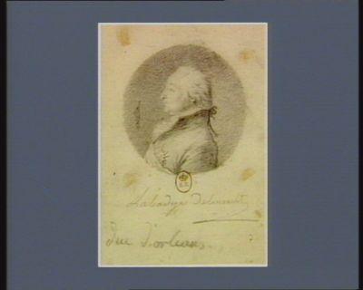 Duc d'Orléans [dessin]