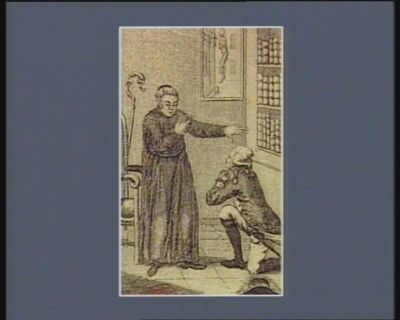 [<em>La</em>  <em>Fayette</em> se confessant <em>à</em> l'abbé de Saint Martin] [estampe]