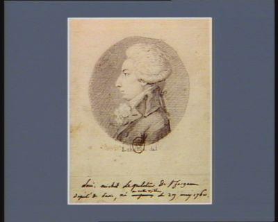 Louis, Michel Le Peletier de Saint-Fargeau député de Paris né en cette ville le 29 may 1760 : [dessin]