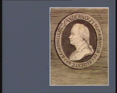 Vandernout restaurateur de la liberté brabanconelle decembre 17 en 1789 : [estampe]
