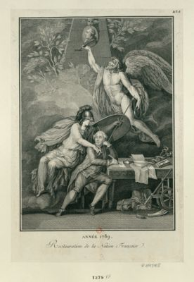 Année 1789 restauration de la nation française : [estampe]