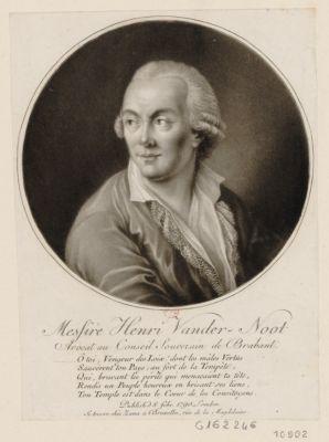Messire Henri Vander-Noot avocat au conseil souverain de Brabant [estampe]