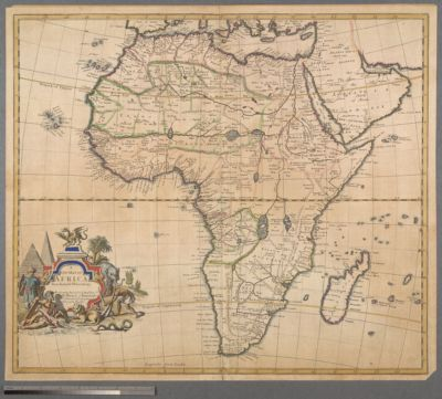 A New map of Africa from the lateſt Obſervations