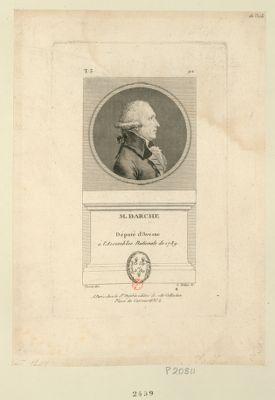 M. Darche député d'Avesne à l'Assemblée nationale de 1789 : [estampe]