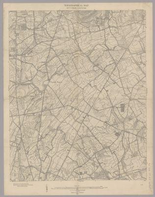Gettysburg Topographic Map.Topographical Map Gettysburg Antietam In Searchworks Catalog