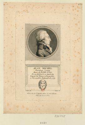 Jean Michel Chambon-Latour maire de la ville d'Uzès né au dit lieu le 22 aoust 1739 député de Nismes et Beaucaire à l'Assemblée nationale de 1789 : [estampe]