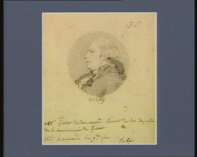 M. Grellet de Beauregard avocat du roi député de la sénéchaussée de Guéret né à Aubusson en 9.bre 1750 : [dessin]